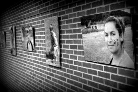 Exhibit of my photographs currently on display at the University of Georgia