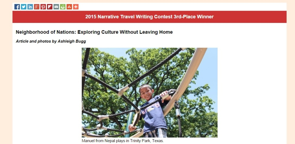texas travels essay contest