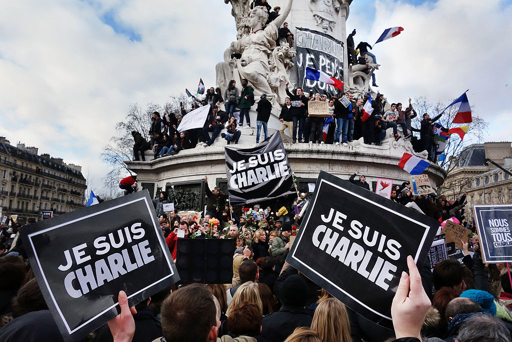 Source: no.wikipedia.org/wiki/Je_suis_Charlie