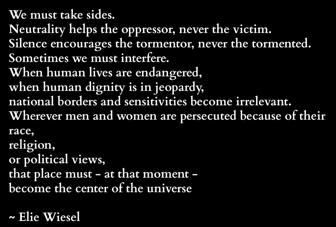 we-must-take-side-elie-wiesel-quote