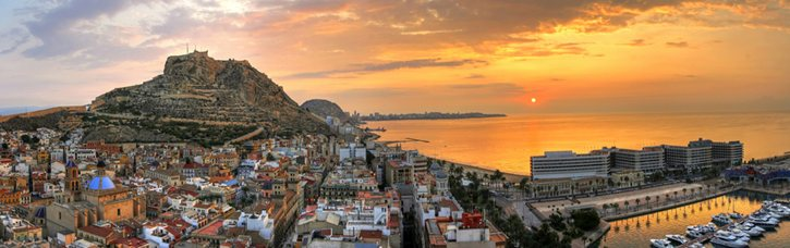 Sunset-in-Alicante-Murcia